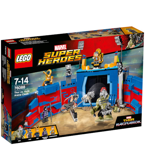 LEGO Marvel Superheroes: Thor vs Hulk Arena Crash (76088)