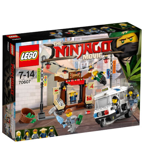 The LEGO Ninjago Movie: La poursuite dans la Ville (70607)