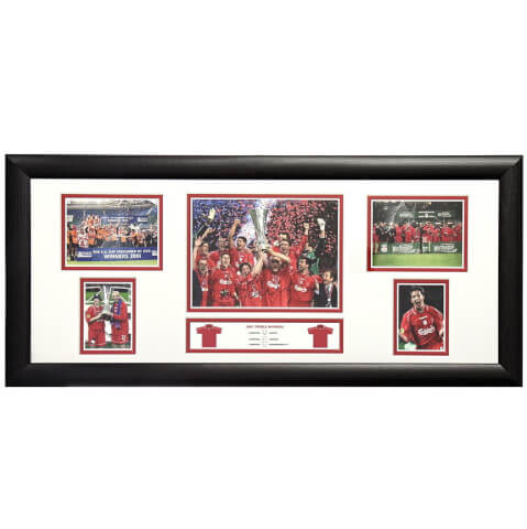 Robbie Fowler Signed and Framed Storyboard