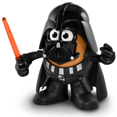 Figurine Mr Patate Dark Vador Star Wars - Poptater