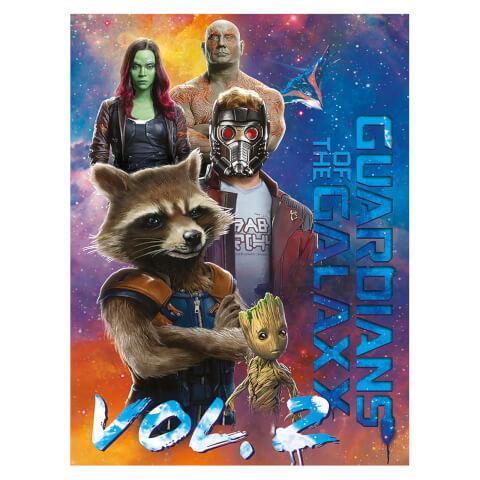 Guardians of the Galaxy Vol. 2 (The Guardians) 60 x 80cm Canvas Print