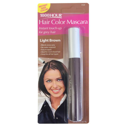 1000 Hour Hair Colour Mascara - Light Brown #124