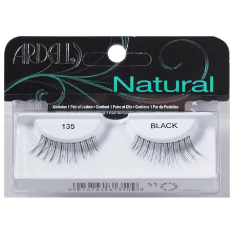 Ardell Glamour #135 Black Lashes