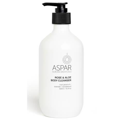 Aspar Rose & Aloe Body Cleanser