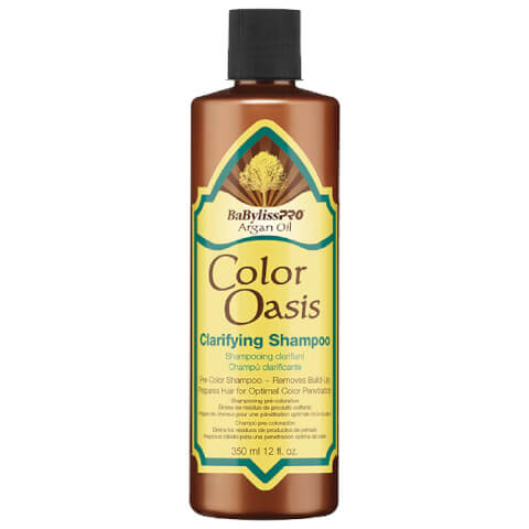 BaByliss PRO Argan Oil Colour Oasis Clarifying Shampoo 350ml