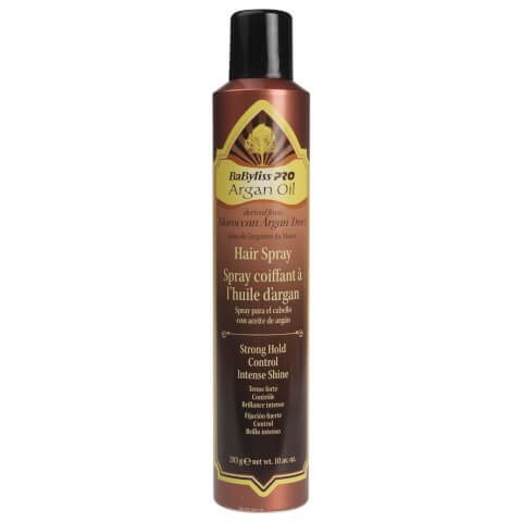 BaByliss PRO Argan Oil Strong Hold Hair Spray