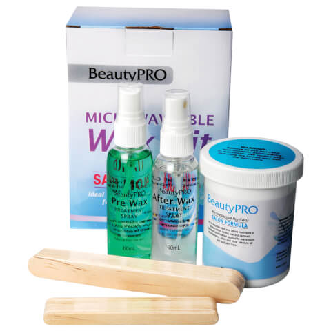 BeautyPro Microwaveable Kit - Hard Wax
