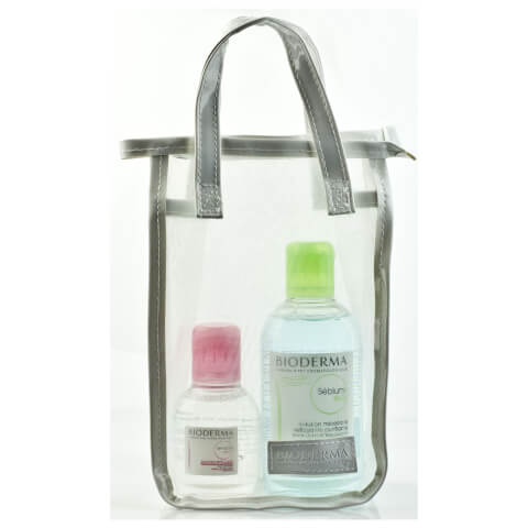 Bioderma Pack With Sebium H2O Purifying Cleanser 250ml And Sensibio H2O Make-Up Remover 100ml
