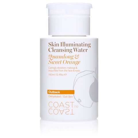 Coast to Coast Outback Skin Illuminating Cleansing Water 160ml