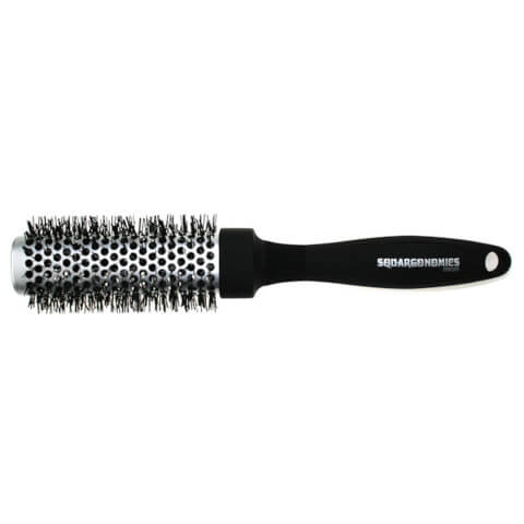Denman Squargonomic Silver Brush Dsq3S Large 33mm