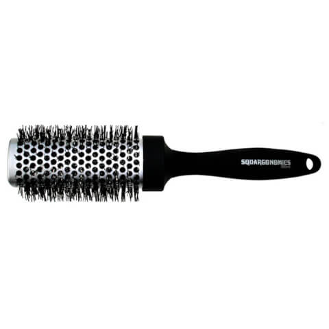 Denman Squargonomic Silver Brush Dsq4S Extra Large 43mm
