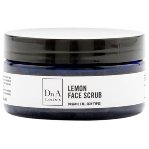 DnA Elements Organic Lemon Face Scrub 100g