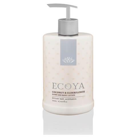 ECOYA Coconut & Elderflower Hand & Body Lotion 500ml
