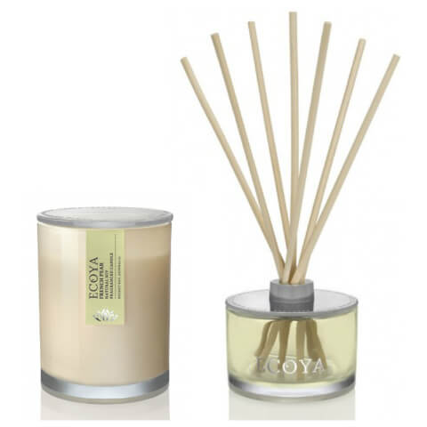 ECOYA Metro Jar Candle And Reed Diffuser Set - French Pear