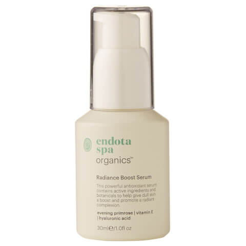 Endota Spa Organics Radiance Boost Serum 30ml