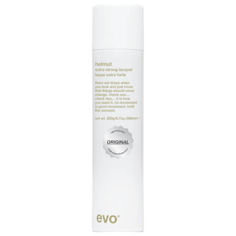 Evo Helmut Extra Strong Hold Lacquer - Travel Size