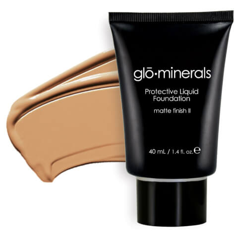 glo minerals Protective Liquid Foundation Matte II-Golden 40ml