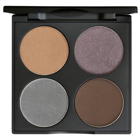 Gorgeous Cosmetics Custom Eyes 4 Pan All-in-One Eye Shadow Palette - Brown Eyes