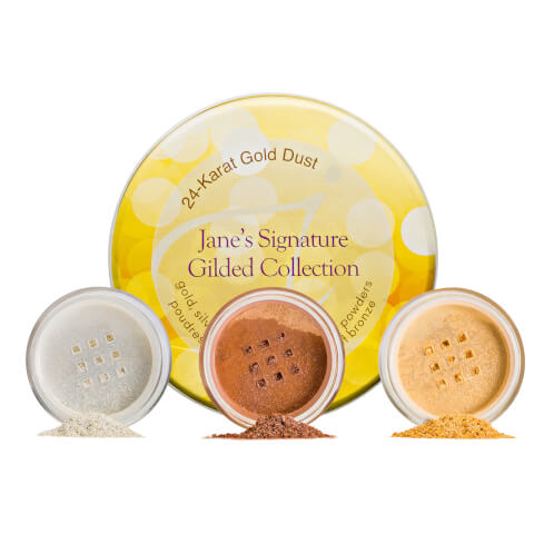 jane iredale 24-Karat Gold Dust Signature Gilded Collection