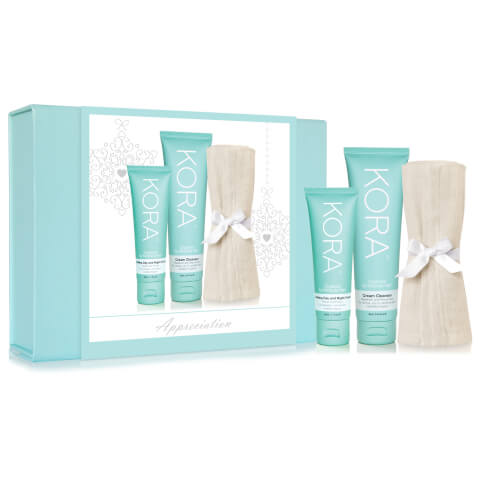 Kora Organics By Miranda Kerr Appreciation Soothing Day And Night Cream And Cream Cleanser Gift Set