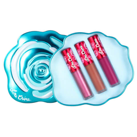 Lime Crime Velve-Tins Mini Velvetines Trio Set - Blue Rose