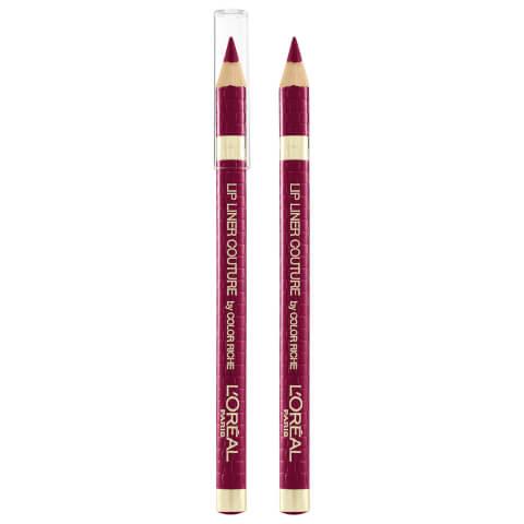L'Oréal Paris Color Riche Lip Liner Couture #374 Intense Plum 1.2g