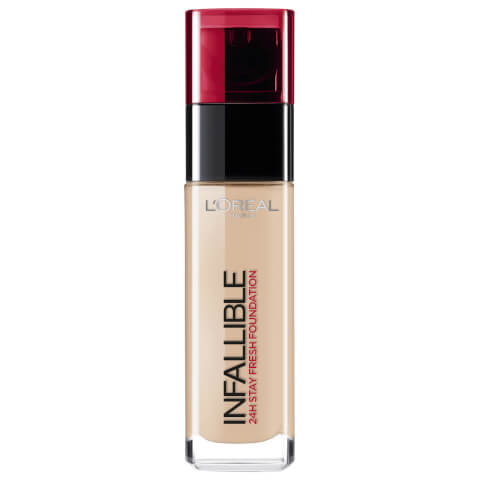 L'Oréal Paris Infallible 24hr Liquid Foundation #145 Rose Beige 30ml