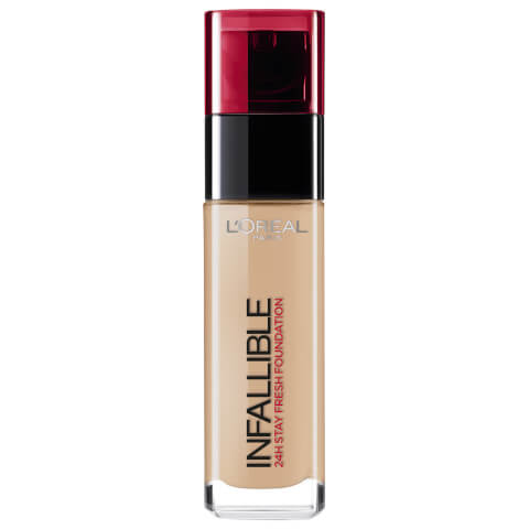 L'Oréal Paris Infallible 24hr Liquid Foundation #220 Sand 30ml