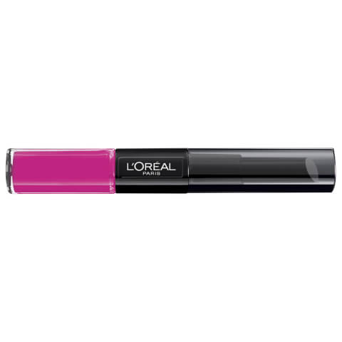 L'Oréal Paris Infallible 2-Step Lipstick #121 Flawless Fuchsia 10ml