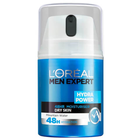 L'Oréal Paris Men Expert Hydra Power 48hr Moisturiser Dry Skin 50ml
