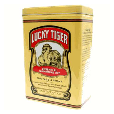 Lucky Tiger Essential Grooming Kit Tin