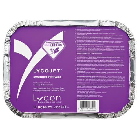 Lycon Lycojet Lavender Hot Wax 1Kg
