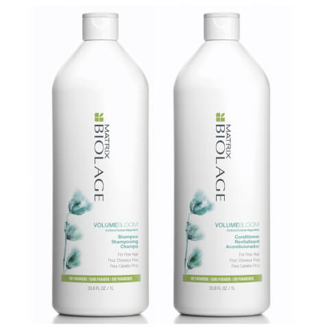 Matrix Biolage Volumebloom Shampoo And Conditioner Duo Pack 2 x 1l