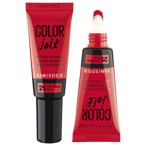 Maybelline Color Jolt Intense Lip Paint #25 Talk Back Red 6.4ml