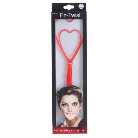 Mia Ez-Twist Hair Twisting Stying Tool 1 Small And 1 Large (With 5 Elastics Included)