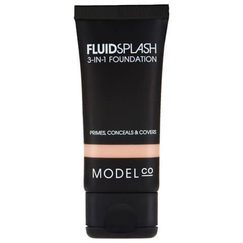 ModelCo Fluid Splash 3 In 1 Foundation 01 Shell 30ml