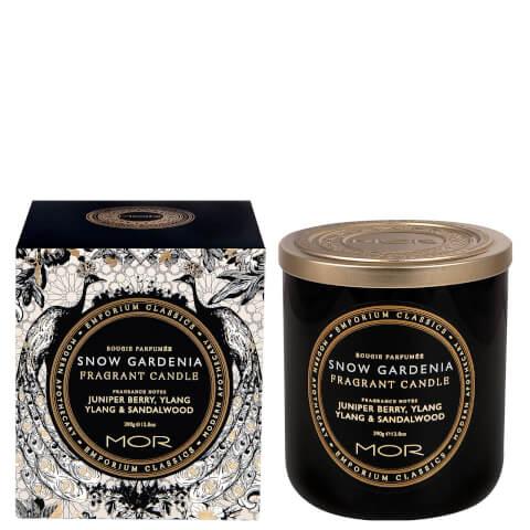 MOR Fragrant Snow Gardenia Candle 390g
