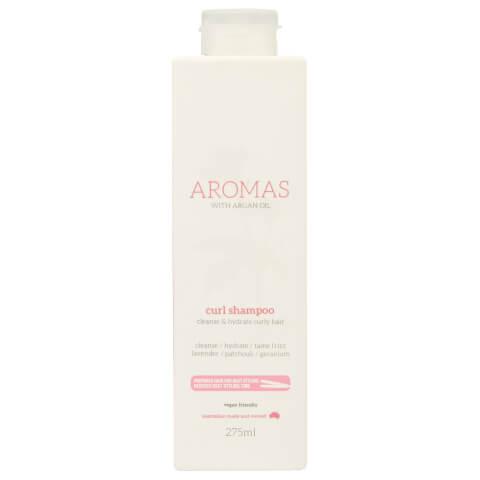 Nak Aromas Curl Shampoo With Argan Oil 275ml