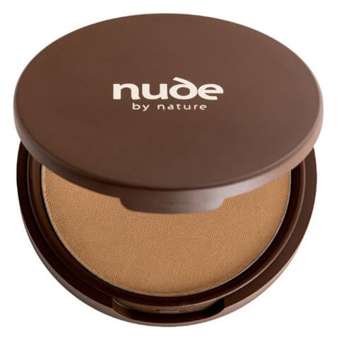 nude by nature Pressed Mineral Cover Foundation - Olive 10g