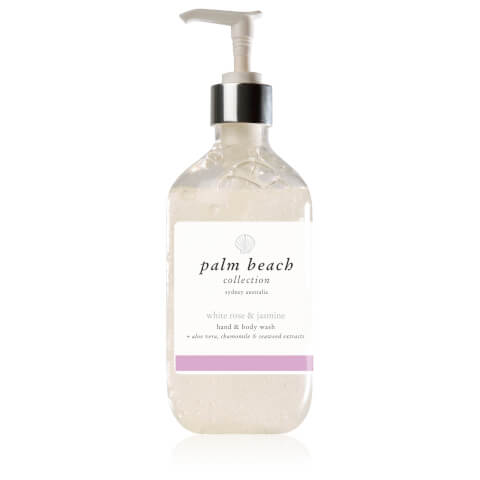 Palm Beach Collection Hand And Body Wash White Rose And Jasmine 500ml
