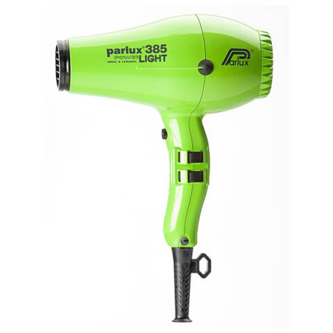 Parlux 385 Powerlight Ionic And Ceramic Hair Dryer - Green