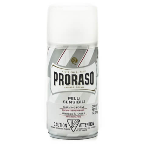 Proraso Shaving Foam - Sensitive - Prevents Razor Burn 300ml