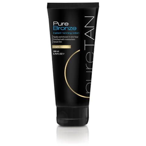 PureTan Pure Bronze Instant Tanning Lotion Dark Tanning 200ml