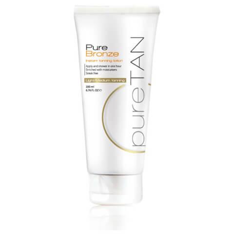 PureTan Pure Bronze Instant Tanning Lotion Light/Medium 200ml