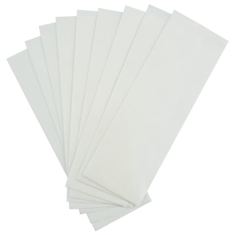 Satin Smooth Non-Woven Cloth Waxing Strips Large