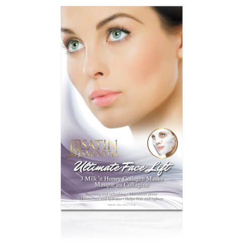 Satin Smooth Ultimate Collagen Face Lift Masks