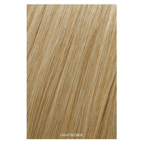 Showpony Professional Clip In Hair Extensions Heat Resistant Synthetic Style 406 - Light Blonde 18 Inches