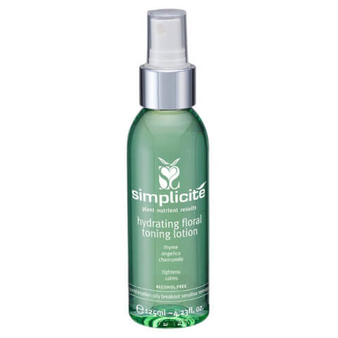 Simplicite Flower Water Toning Lotion Comb/Oily 125ml