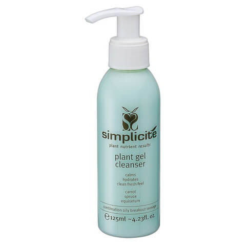 Simplicite Plant Gel Cleanser Comb/Oily 125ml