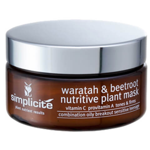 Simplicite Waratah And Beetroot Nutritive Plant Mask